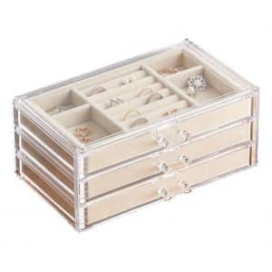 HerFav Jewelry Box for Women