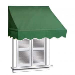 ALEKO Green Window Awning Door Canopy