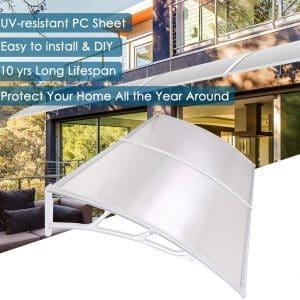 Yescom Outdoor Door Window Awning Canopy