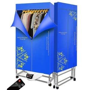 KOFOHON Adjustable Warm Air-Drying Wardrobe