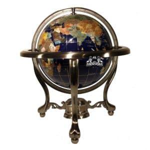 Unique Art 13-Inch Gemstone Globe