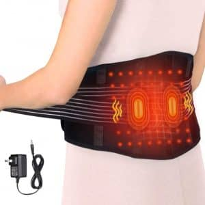 VINGVO Electric Massage Waist Heating pad