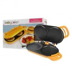 Babycakes Pancake Maker Flip-Over Design