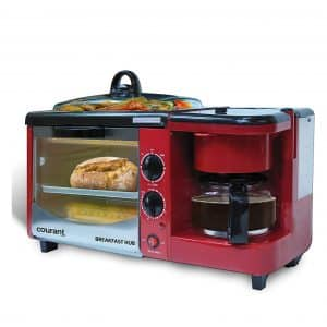 Courant CBH-4601R 3-in-1 Multifunction Breakfast Station