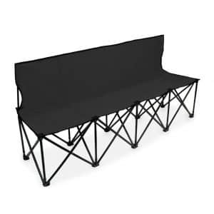 Crown Sporting Goods 6-Foot Portable Folding 4 Seat Bench