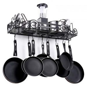 SparkWorks Wall Mounted Pot Rack