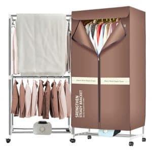 Xiaqing Portable Fast 1000W Warm Air-Drying Wardrobe