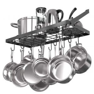 Vdomus Grid Wall Mount Pot Rack