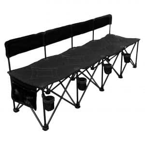 Go Team! Pro 4 Seat Portable Folding Team Bench