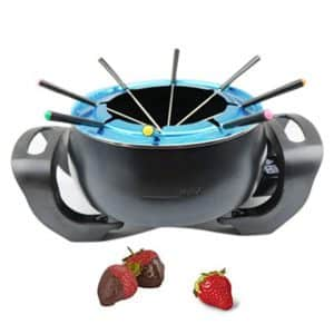 Electric Chocolate and Cheese Fondue Pot Set