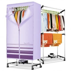 Lattice 2-Layers Electric Air-Drying Wardrobe