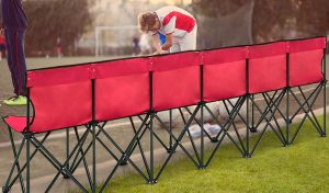 folding sideline benches
