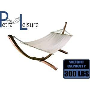 Petra Leisure, 12 Ft. Water Treated Wooden Hammock bed