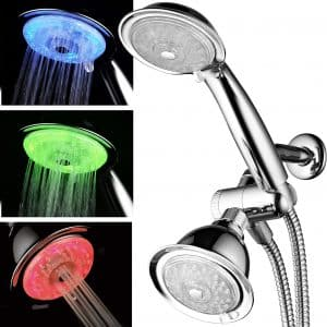 PowerSpa Luminex LED Shower Head