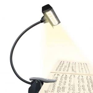Vekkia Super Bright 19 LED Music Stand Light- Serves a uniform light pattern
