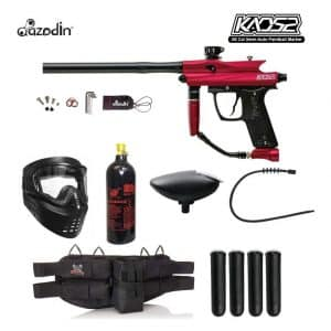 Maddog Azodin KAOS 2 Paintball Gun Package (Silver)
