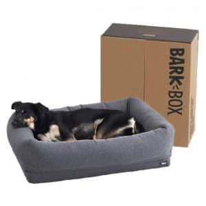 BarkBox Memory Foam Dog Cuddler Bed