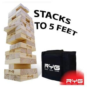 RYG Giant Wooden Toppling Tower
