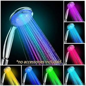 Lord-of-the-Deals 7 Multicolor Rainbow LED Shower head
