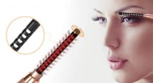heated eyelash curlers