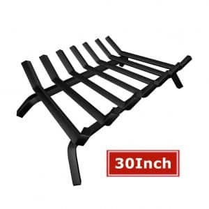 AMAGABELI GARDEN and HOME Wrought Iron Log Fireplace Grate