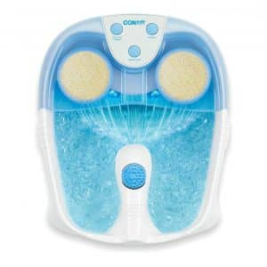 Conair Active Life Foot Spa w/ Lights & Bubbles, Blue