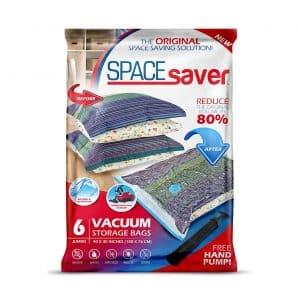 Spacesaver Vacuum Storage Bags (Jumbo 6 Pack)