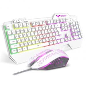 havit Keyboard Rainbow Backlit Gaming Keyboard