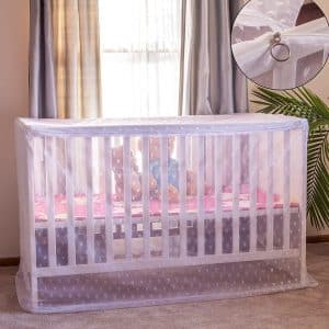 Artistic Baby Mosquito Net for Crib