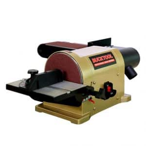 BUCKTOOL Belt Disc Sander with Portable Al Base and 3/4HP Motor