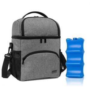 Teamoy Double Layer Cooler Bag