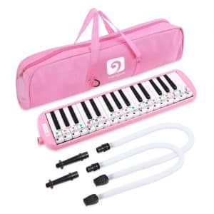 Vangoa 32 Key Melodica Instrument with a Carrying Bag