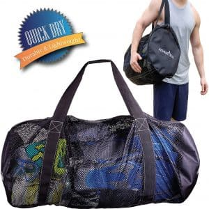 Athletic Mesh Dive Duffel Bag