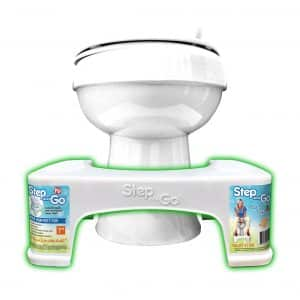 Step and Go Toilet Stool
