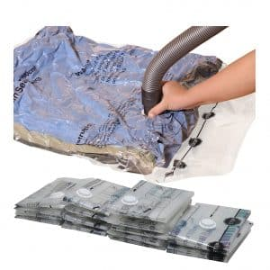 Simple Houseware Vacuum Storage Bags for Bedding, Towel, and Clothes