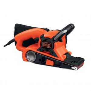 BLACK+DECKER DS321 7-Amp Belt Sander with Dust Bag