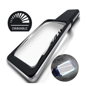 MagniPros 3X Magnifying Glass with Lights