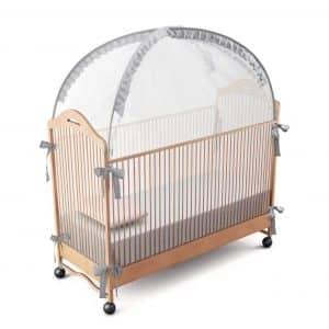 RUNNZER Baby Crib Safety Pop up Tent