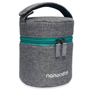 Nanobebe Breast Milk Baby Bottle Cooler and Travel Bag