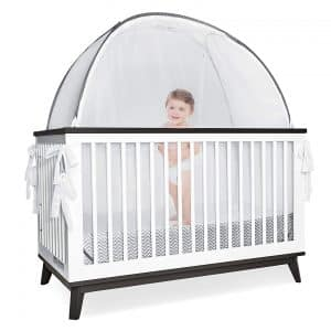 Pro Baby Safety Grey Canopy Cover