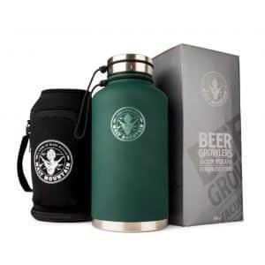 Malt Mountain Beer Growler, 64 oz