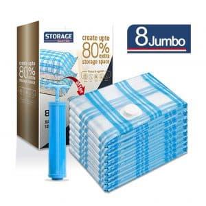 Storage Master Vacuum Storage Bags (8 Jumbo)