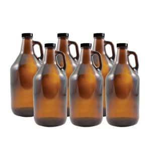 Strange Brew Home-Brew Amber Growlers, 64oz