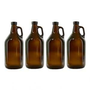 True Fabrications Beer Growler, UV Protection (Pack of 4)