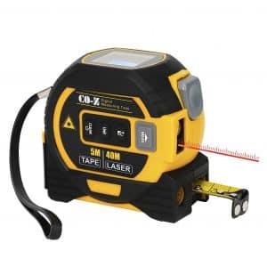 CO-Z 3 In 1 Digital Metric Laser Tape Measure