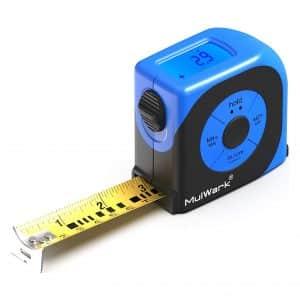 MulWark 16ft Digital Tape Measure