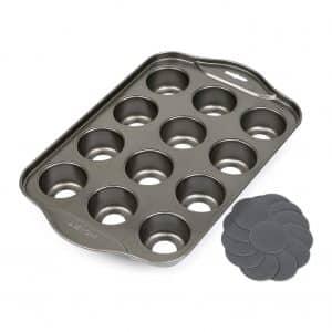 12 Cups Mini Cheesecake Pan