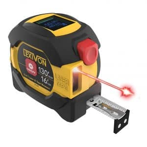 LEXIVON 2 in 1 Digital Laser Tape Measure