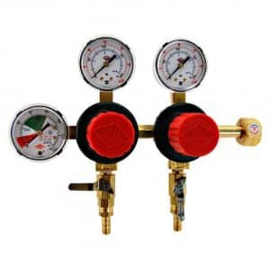 Tap rite T752HP Two Product Dual Pressure Keg CO2 Regulator