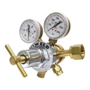 UNIWELD RHT8013 Medium / Heavy duty two stage CO2 Regulator